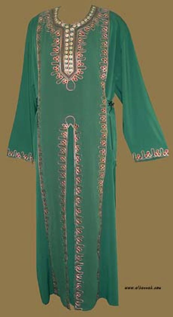 Embroidered Arabian Thobe th558