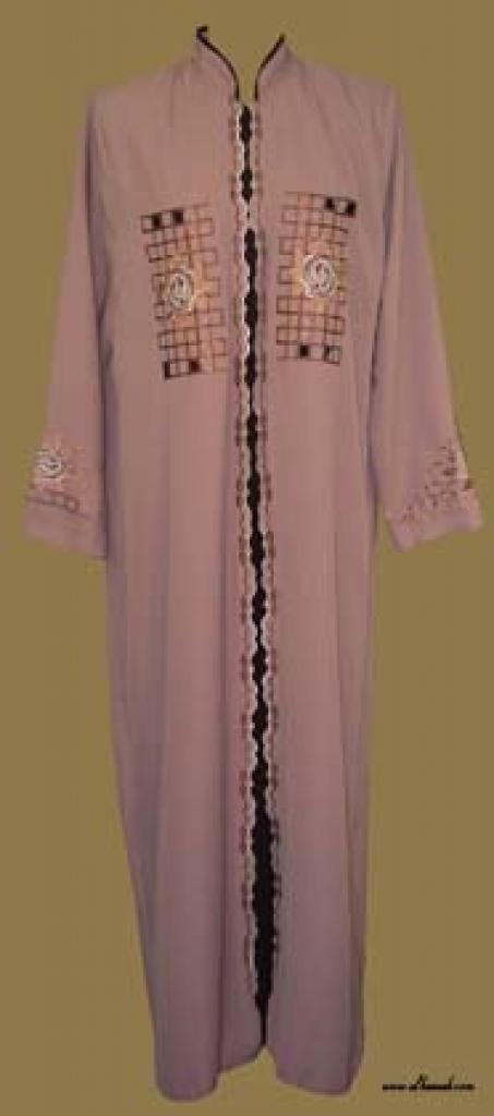 Embroidered Arabian Thobe  th561