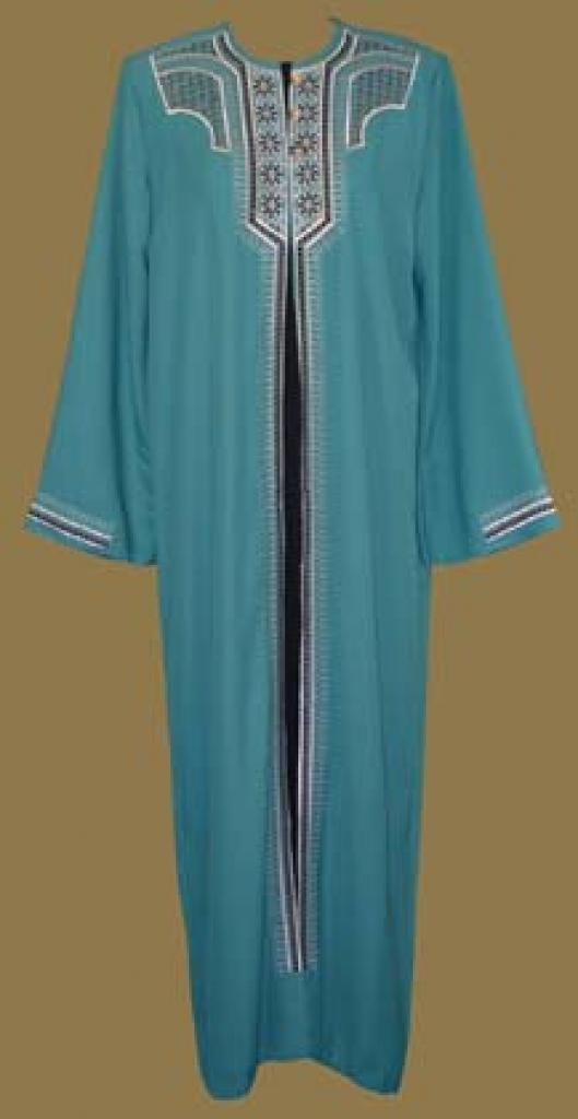 Embroidered Arabian Thobe  th562