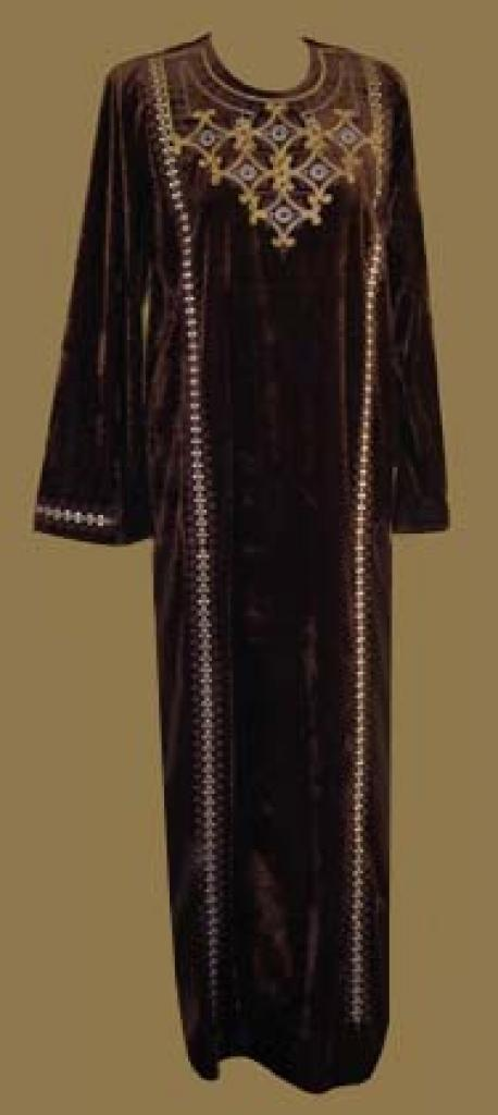 Embroidered Arabian Thobe  th563