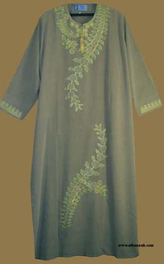 Embroidered Arabian Thobe th565