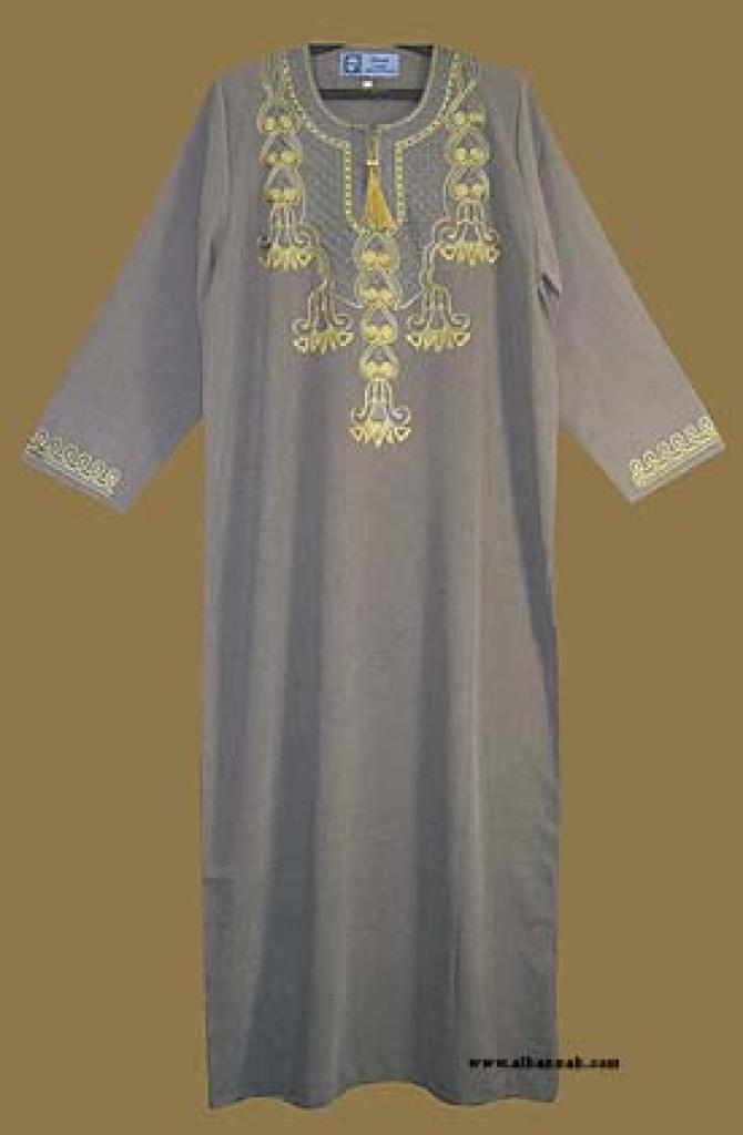 Embroidered Thobe th566