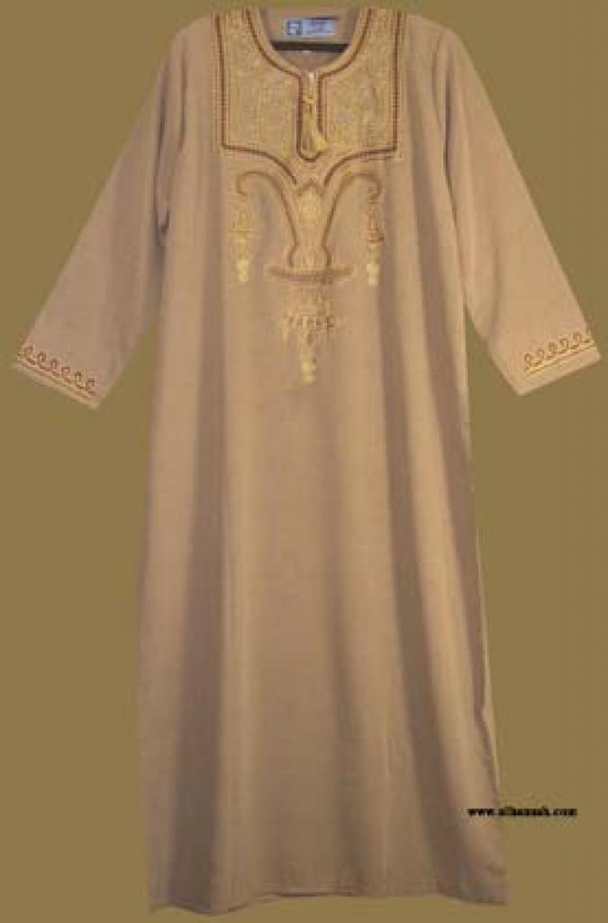 Embroidered Arabian Thobe th567