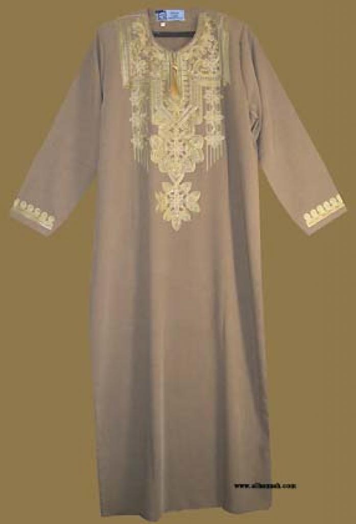 Embroidered Arabian Thobe  th568