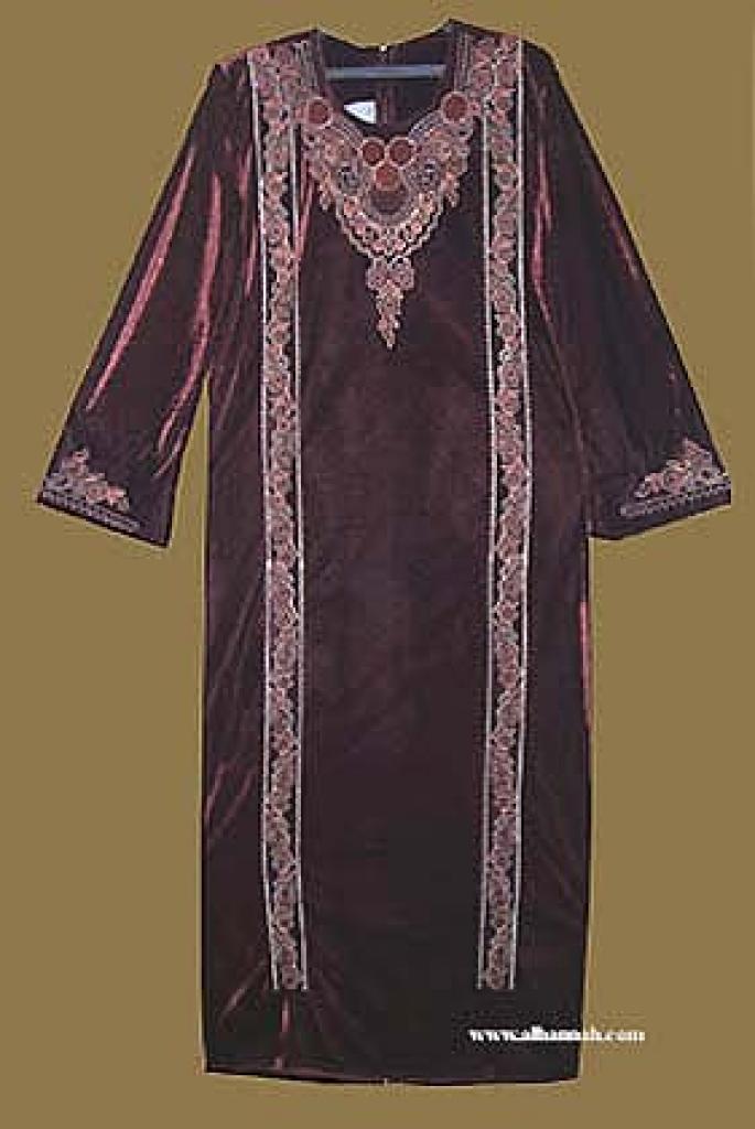 Embroidered Arabian Thobe  th569