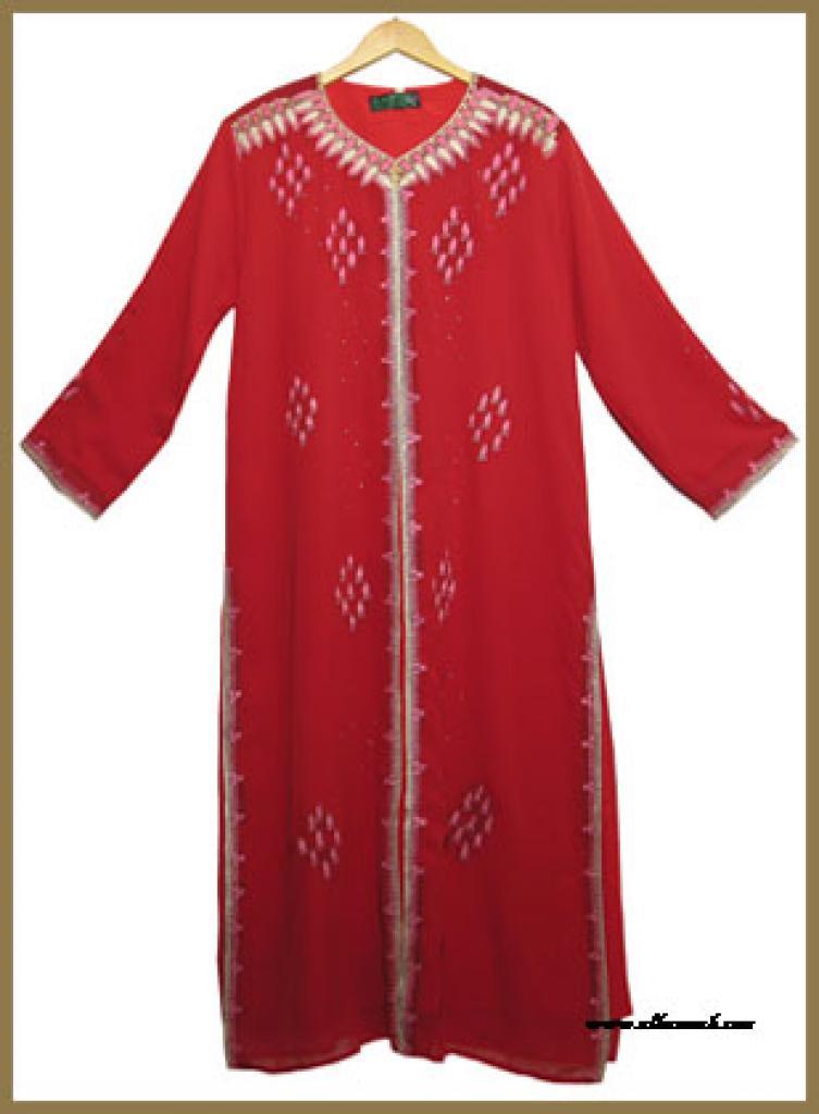 Embroidered Arabian Thobe th584