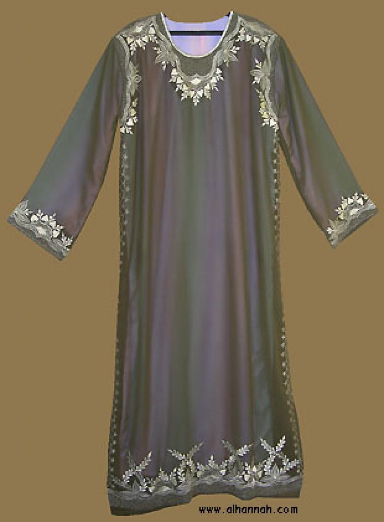 Embroidered Saudi Thobe th585