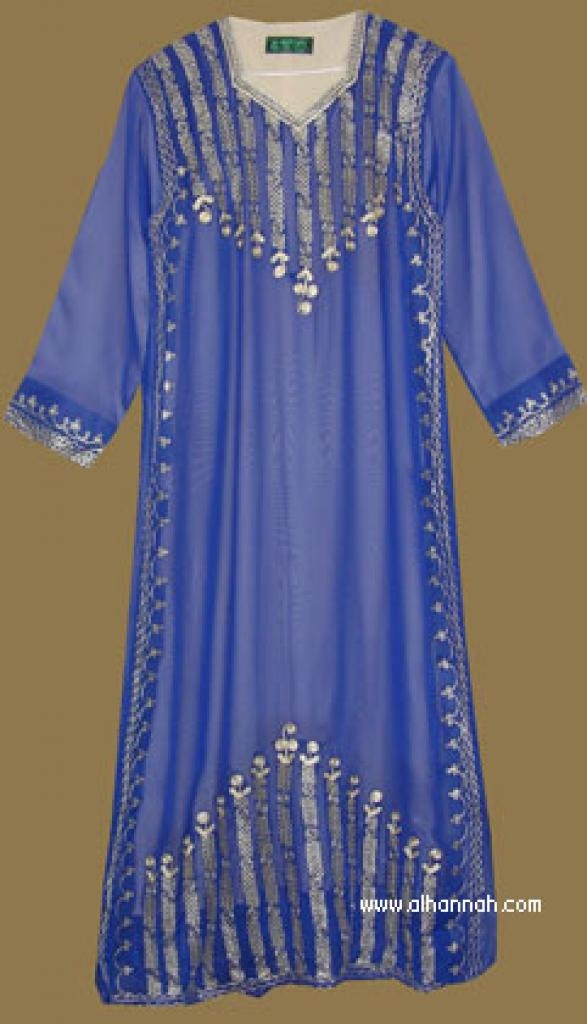 Embroidered Saudi Thobe th590