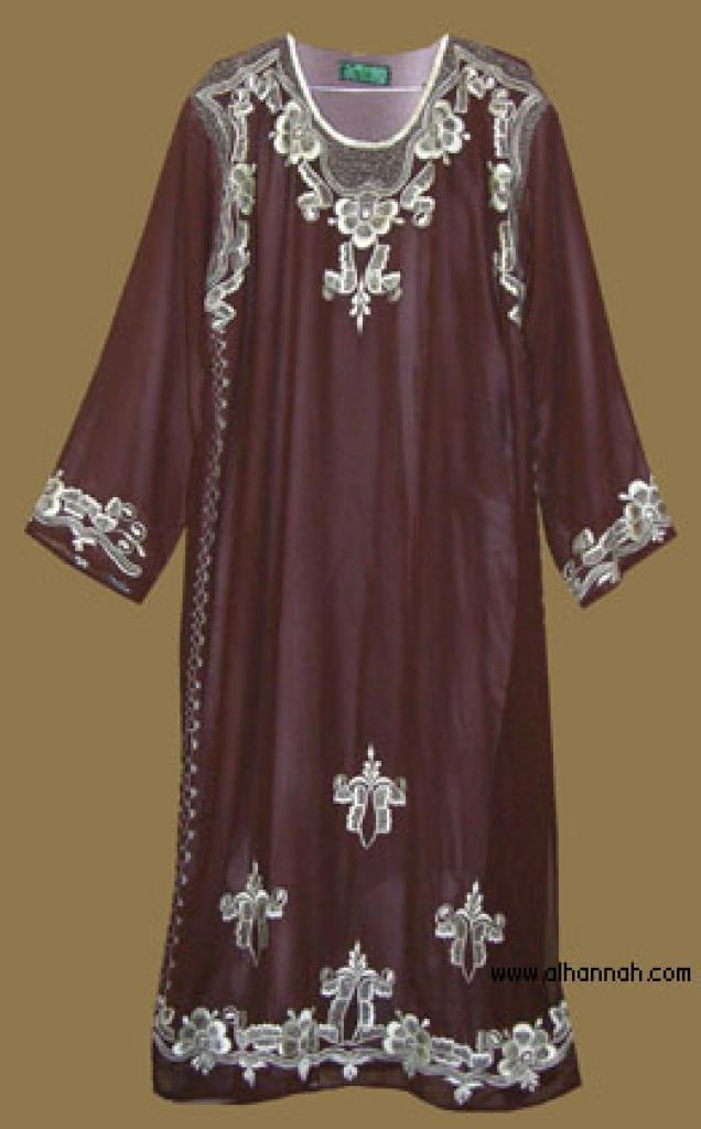 Embroidered Saudi Thobe th592