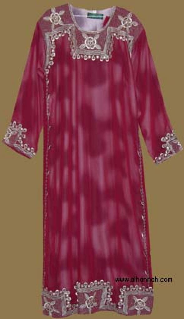 Embroidered Saudi Thobe th593