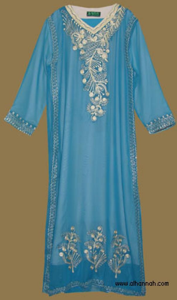Embroidered Saudi Thobe th594