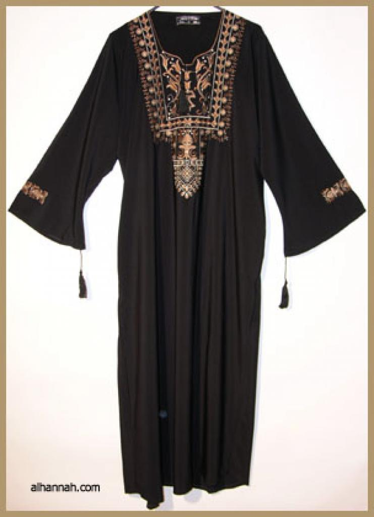 Embroidered Moroccan Thobe  th597