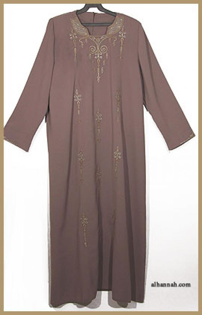 Embroidered Arabian Thobe th603
