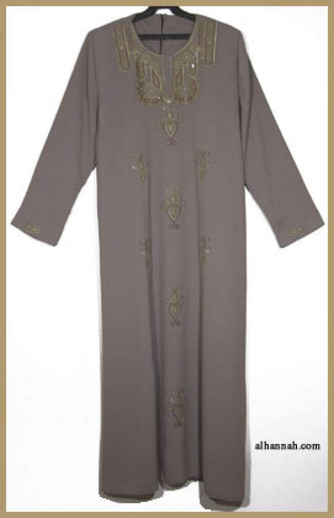 Embroidered Arabian Thobe th604