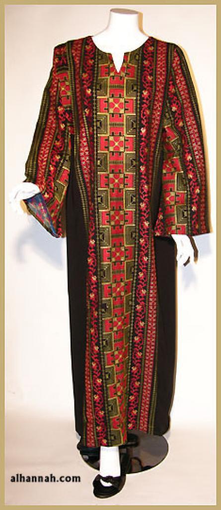 Embroidered Jordanian Thobe th609