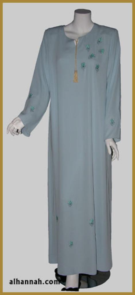 Embroidered Arabian Thobe th612