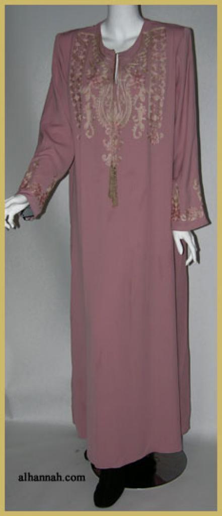 Premium Embroidered Jordanian Thobe  th613