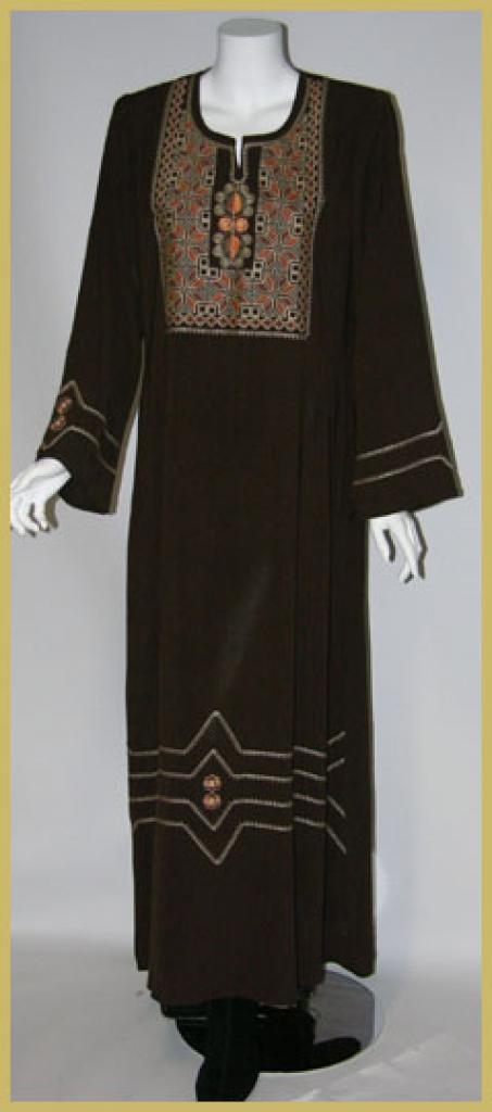 Premium Embroidered Jordanian Thobe  th614