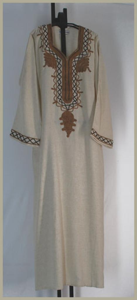 Embroidered Cotton Thobe  th627