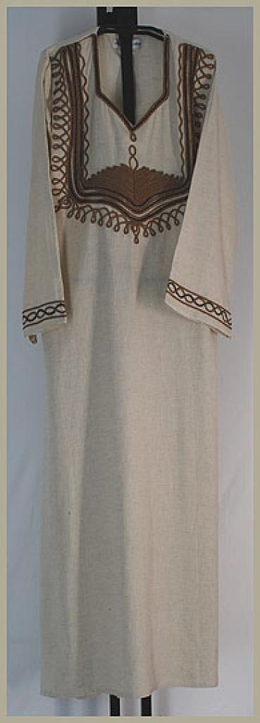 Embroidered Cotton Thobe  th629