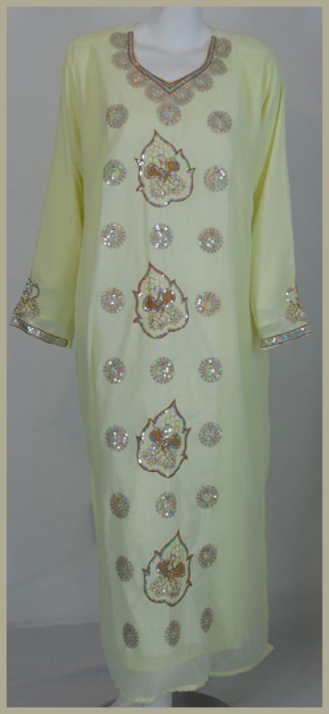 Festive Saudi Embroidered Thobe th631