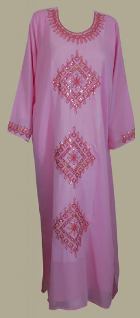 Festive Saudi Embroidered Thobe th632