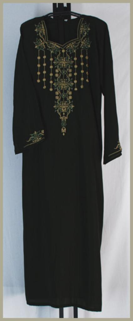 Traditional Embroidered Saudi pull-over Thobe th635