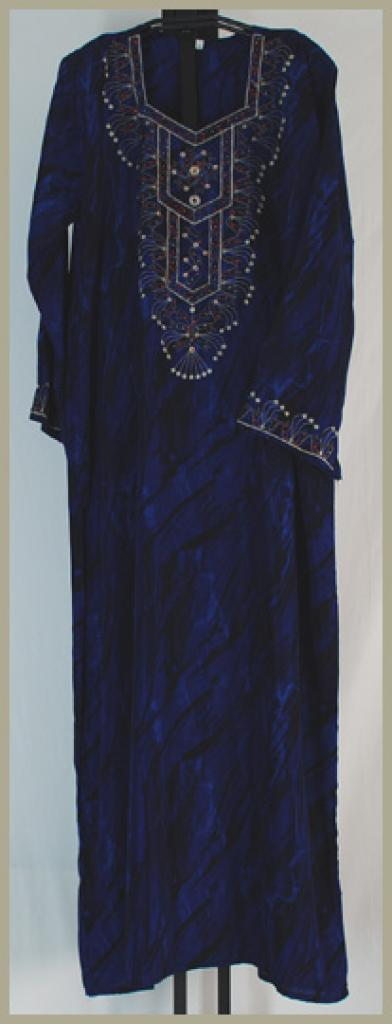 Traditional Embroidered Saudi pull-over Thobe th637