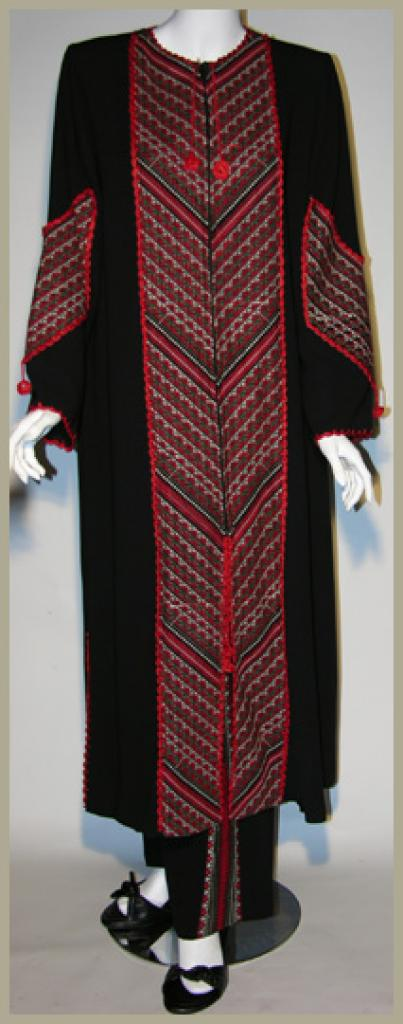 Embroidered Jordanian Pants Set th639