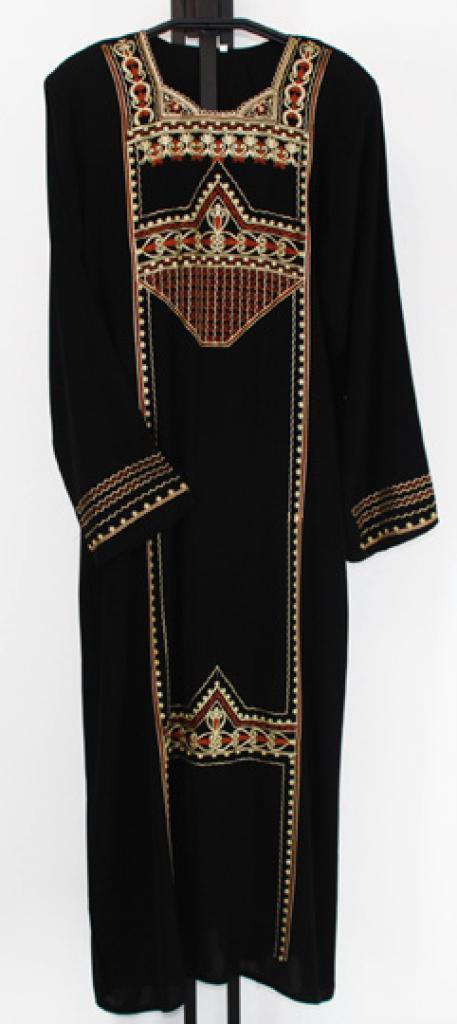 Embroidered Saudi Thobe  th647
