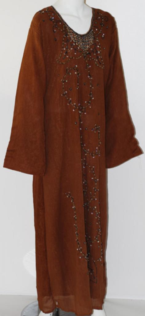 Embroidered Double-layer Thobe th653
