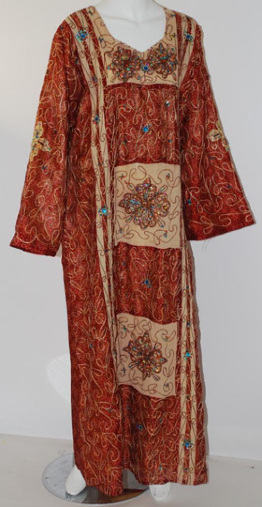 Embroidered Womens Dishdasha  th657