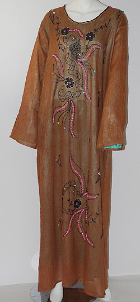 Embroidered Double-layer Thobe   th672