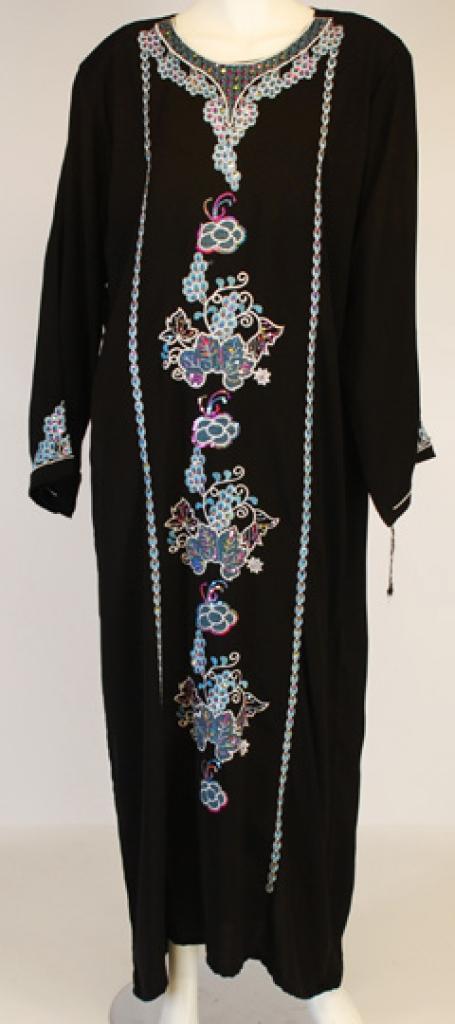 Embroidered Saudi Thobe th673