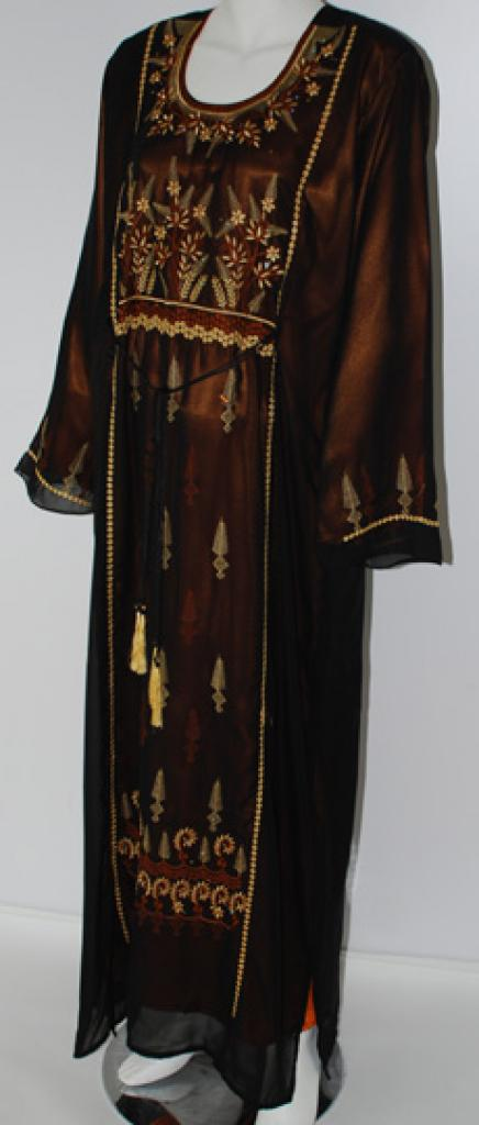 Wheat Pattern Embroidered Thobe th681