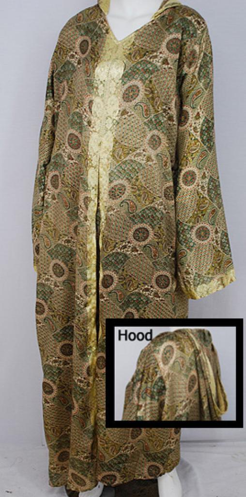 Hooded Moroccan Style Dishdasha  th685