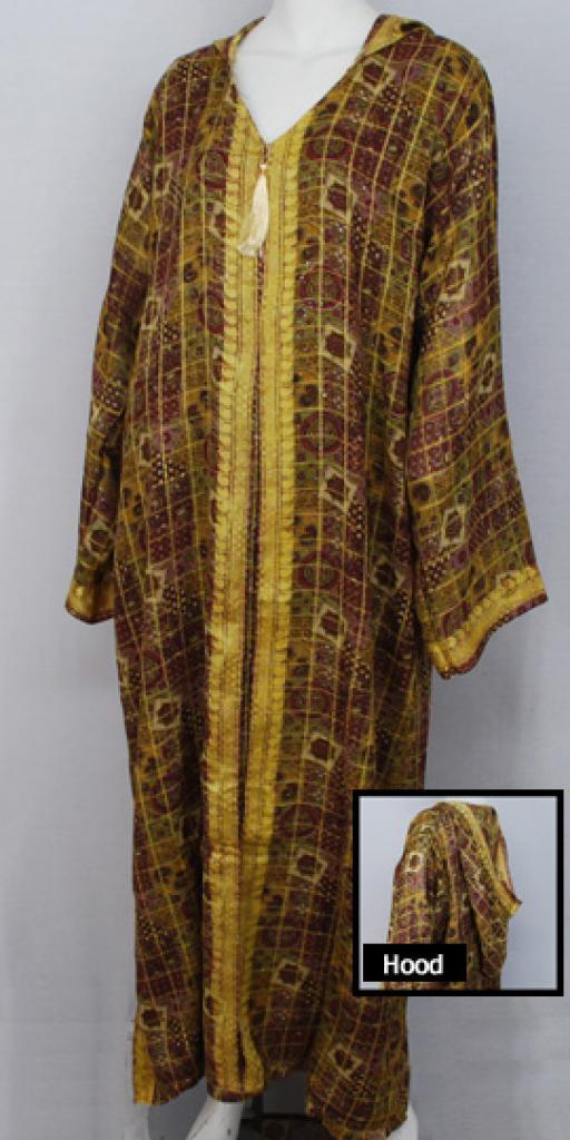 Hooded Moroccan Style Dishdasha  th686