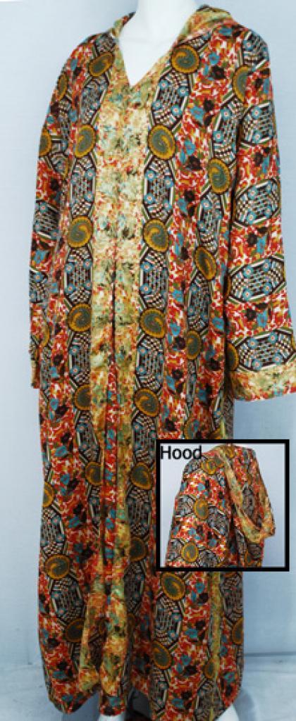 Hooded Moroccan Style Dishdasha  th687