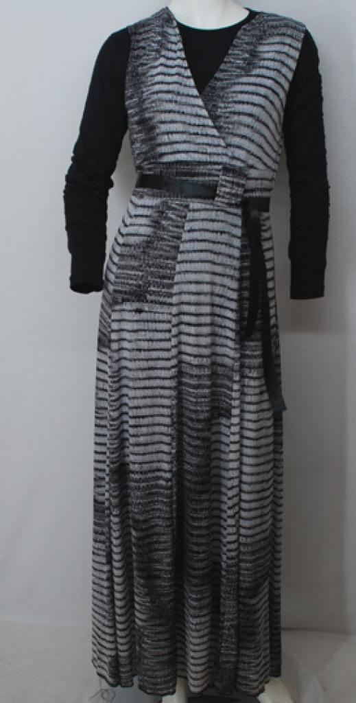 Petite Two Piece Printed Jersey Thobe th697