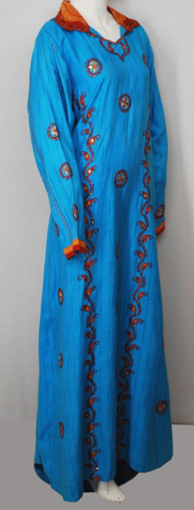 Embroidered Cotton Jordanian Thobe th705