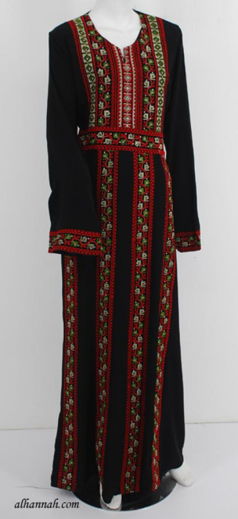 Deluxe Embroidered Palestinian Fellaha Dress th742