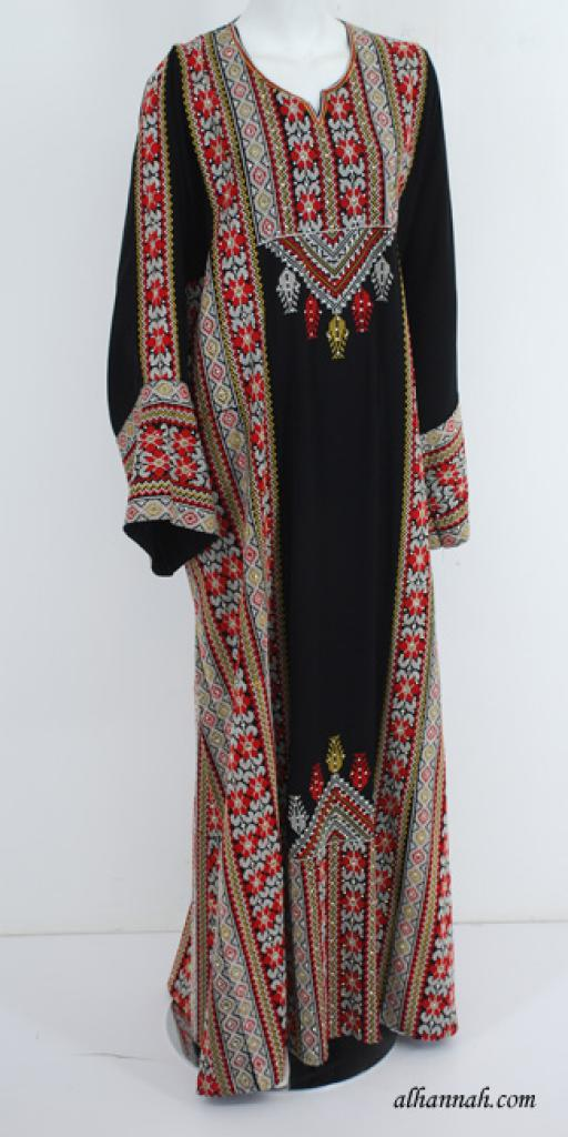 Deluxe Embroidered Palestinian Fellaha Dress th745
