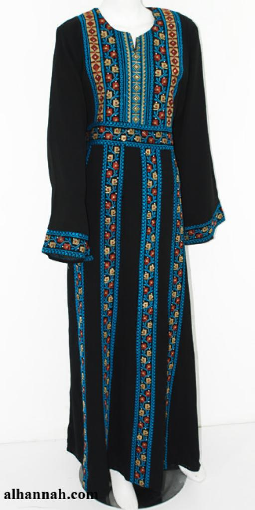 Deluxe Embroidered Palestinian Fellaha Dress th751