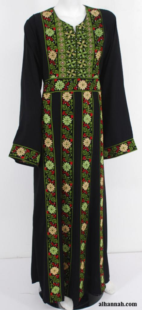 Deluxe Embroidered Palestinian Fellaha Dress th755