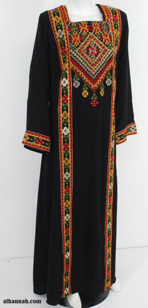 Deluxe Embroidered Palestinian Fellaha Dress th756