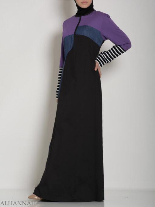 Abaya Sport Style with Pattern ab660 (1)