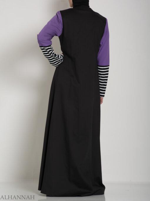 Abaya Sport Style with Pattern ab660 (11)