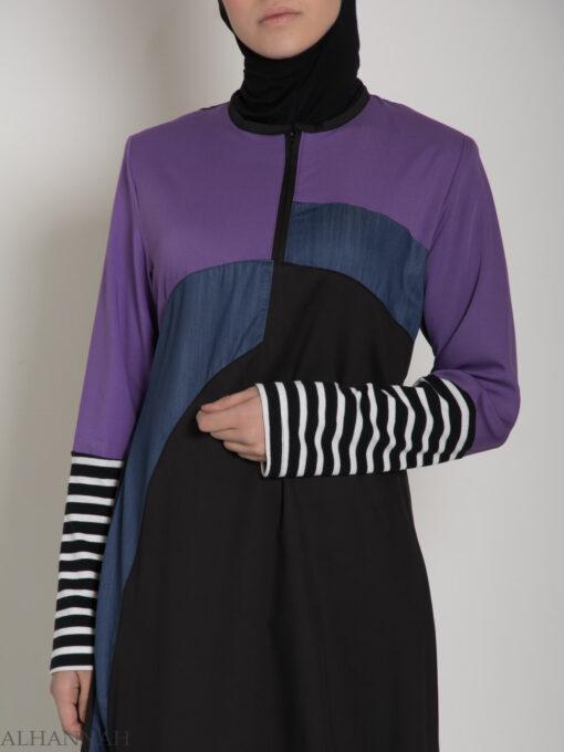 Abaya Sport Style with Pattern ab660 (4)