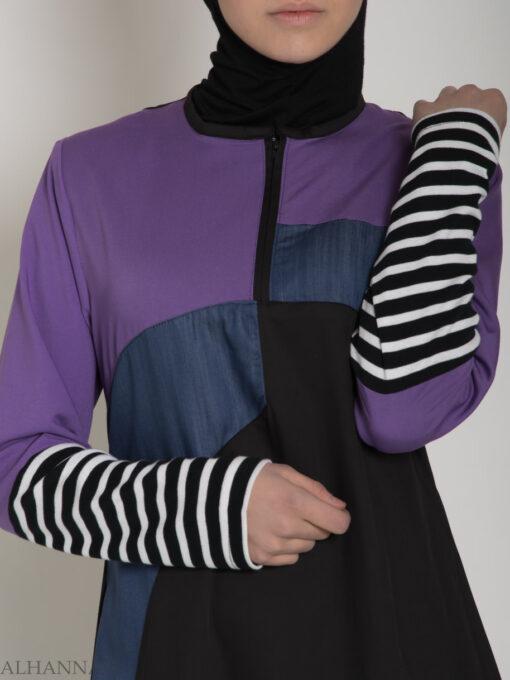 Abaya Sport Style with Pattern ab660 (7)