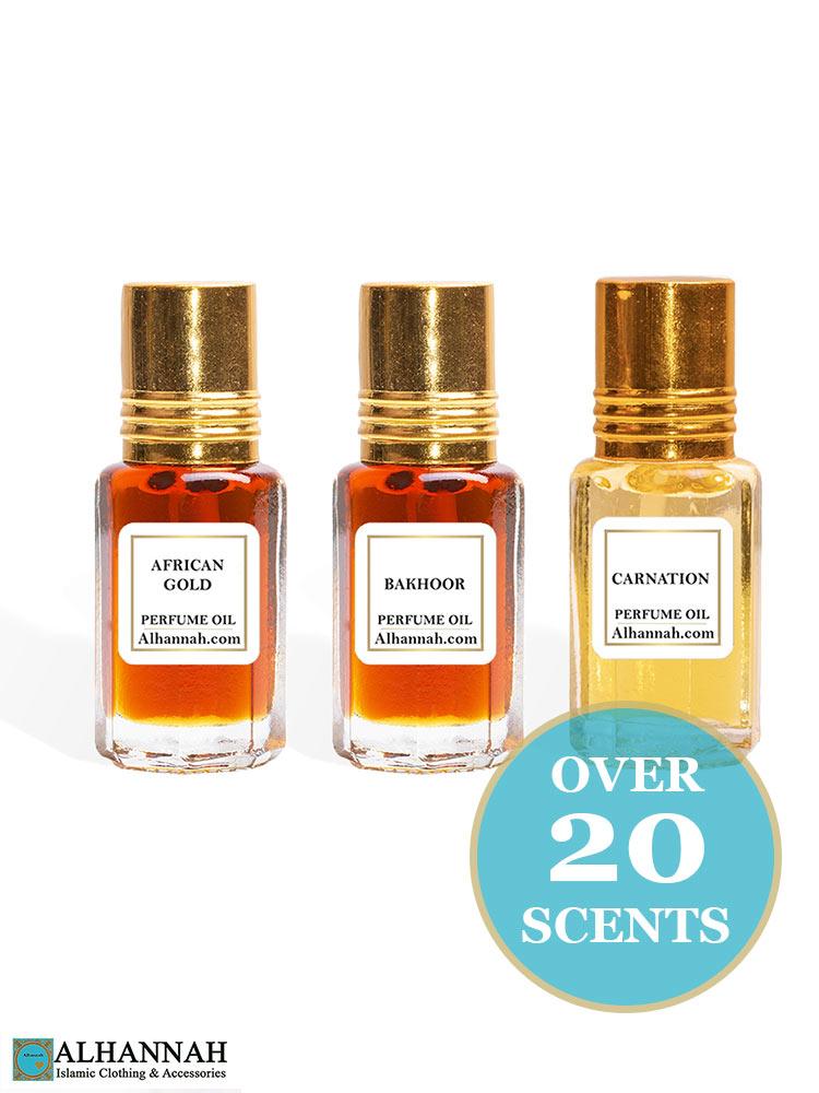 Alhannah Attar Perfume Oils